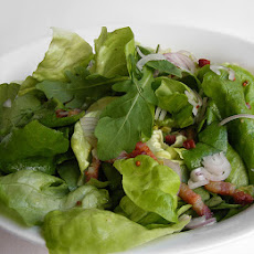 Salad Greens And Mustard Vinaigrette