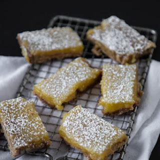 Brown Sugar Crust Lemon Bars Recipes