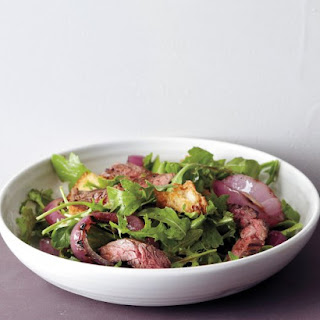 Grilled Steak and Onion Salad