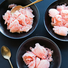 Ruby Grapefruit Sorbet