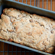 Oatmeal Quickbread with Walnuts
