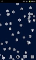 Screenshot of Christmas Snowflakes