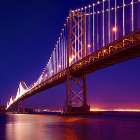 Bay Bridge Dream by Craig Bill - Buildings & Architecture Bridges & Suspended Structures (  )