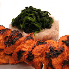 George Foreman Grilled Tandoori Chicken