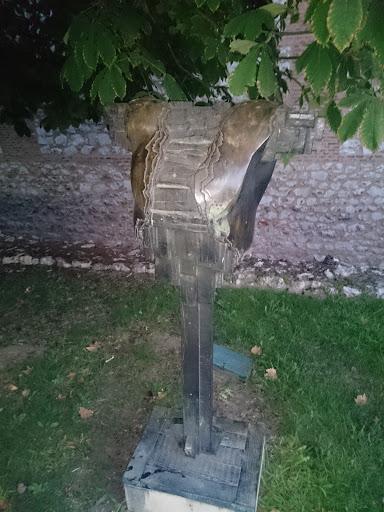Escultura Armadura