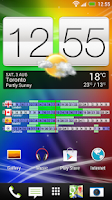 Screenshot of World Clock Widget