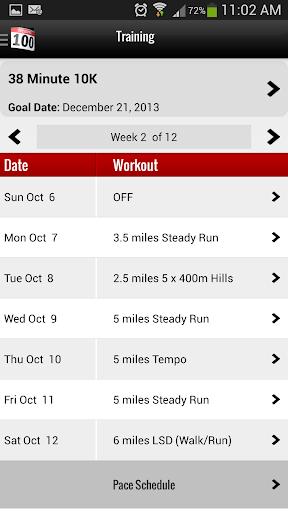 Running Room Mobile Runner PRO - screenshot