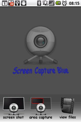 Screen Capture Blue