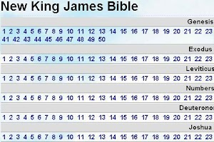 Screenshot of New King James Bible