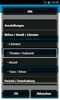 Screenshot of LiVe - Linz Veranstaltungen
