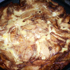 German Apple Pancake Zells