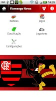 Screenshot of Flamengo News