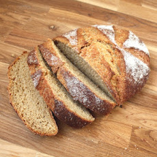 100% Whole Wheat Free-Form Artisan Bread