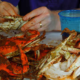 Love those Maryland Crabs by Dawn Schriebl Hartley - Food & Drink Eating