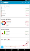 Screenshot of Mobills Finance Manager