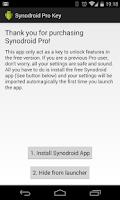 Screenshot of Synodroid Pro Key