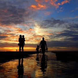 go home by Fajrin Ar Rahman - Landscapes Sunsets & Sunrises