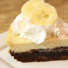 Black-bottom Banana Cheesecake Bars