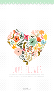 How to get Love Flower go launcher theme patch 1.2 apk for android