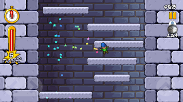 Screenshot of Icy Tower Retro