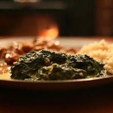 Spinach With Indian Spices