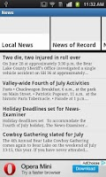 Screenshot of Montpelier News-Examiner