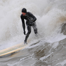 Wetsuit by Prentiss Findlay - Sports & Fitness Surfing ( surfing, waves, ocean, beach, surf )