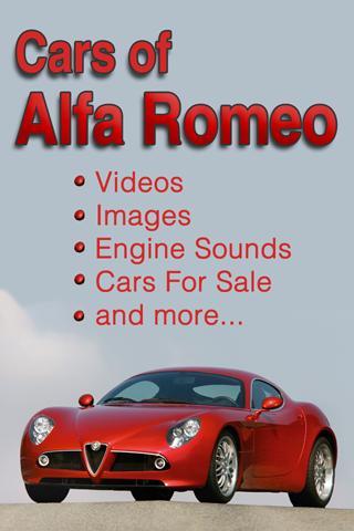 Alfa Romeo in Pics Video Sound