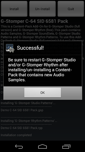 G-Stomper C-64 SID 6581 Pack - screenshot