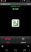 Screenshot of Raj-Telecom MoSIP Version