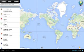 Screenshot of World Map Atlas 2014 FREE