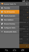 Screenshot of Scanner Radio Pro