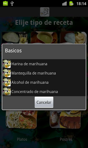 recetas-con-marihuana for android screenshot