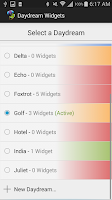 Screenshot of Daydream Widgets