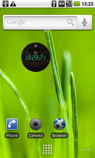 Gantz Clock Widget
