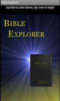 Screenshot of Bible Explorer