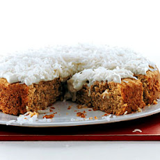 Banana Cake with Coconut Frosting