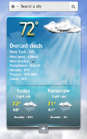 Screenshot of Speaking weather