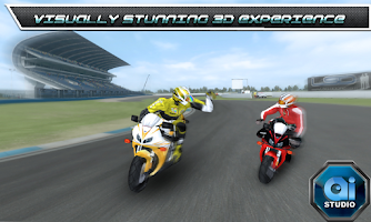 Screenshot of Bike Racing