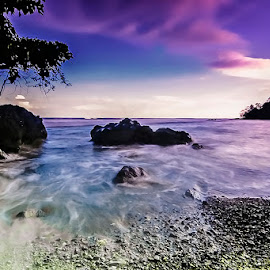 waves were pulled over by Harold Buyung - Landscapes Beaches ( nature, indonesia, papua, beach, landscape )