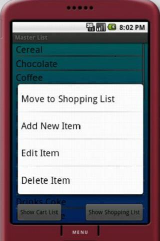 Simplest Grocery List