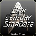 Star Trek clock weather widget icon