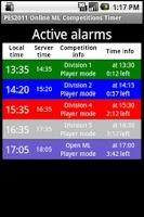 Screenshot of PES2011 OnlineML Timer