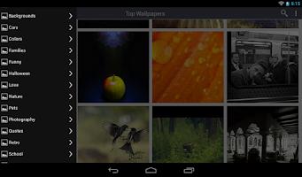 Screenshot of Envisage Wallpaper