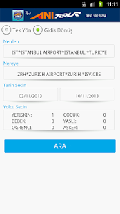 Flight Reservation Ani Tour - screenshot