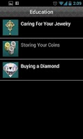 Screenshot of Coin Mart Jewelry