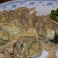 Beef Stroganoff ................ Betty Webb