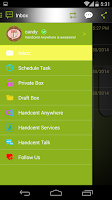 Screenshot of Handcent 6 Skin Android
