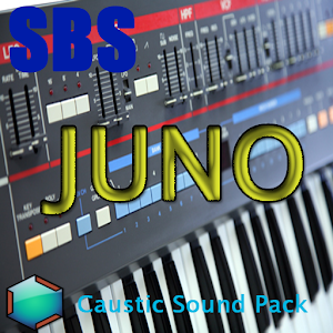 Cover art SBS Juno Caustic Sound Pack