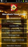Screenshot of Marrakech Offline Travel Guide
